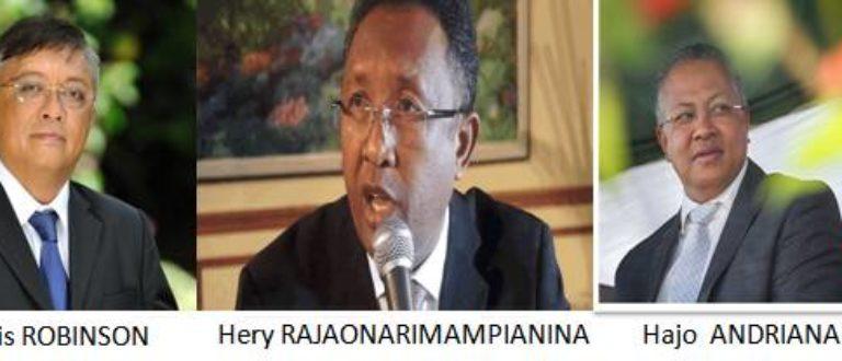 Article : Élection présidentielle sur Tananarive-MADAGASCAR